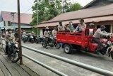 Polri-TNI gelar patroli gabungan di Asmat untuk cegah virus corona