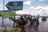 Banjir Di Jalur Trans Kalimantan