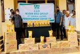 PT Unggul Lestari bantu sembako untuk masyarakat delapan desa di dua kecamatan