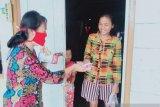 Pemuda Kristen Mukomuko bagikan ribuan masker secara gratis