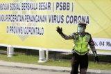 Selama PSBB di Gorontalo, suami-istri pun tidak boleh berboncengan