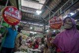 Razia pemakaian masker di pasar