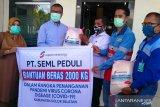 Supreme Energy Muara Laboh memilih beras lokal bantu warga Solok Selatan terdampak COVID-19