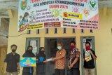 Siswa SMK Muhammadiyah bagikan masker ke desa lewat Program