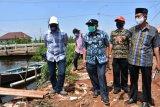 Antisipasi limpasan air sungai,  Pekalongan realisasikan pembangunan tanggul darurat