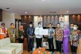 Momentum ramadhan, BNI wilayah Sumbar, Riau dan Kepri bagikan paket sembako ke masyarakat