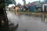 Hujan semalam, genangi jalan dan rumah warga Desa Margasari Lampung Timur