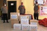 Polda Papua terima bantuan alkes dan masker dari Bhayangkari
