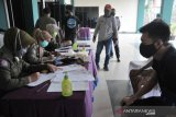 Satpol PP Palembang karantina 180 pelanggar masker
