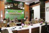 Pemkab Pringsewu dan STPN Yogyakarta rapat bahas kerjasama secara virtual