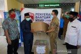 Satgas COVID-19 DPRD NTB menyerahkan APD di enam rumah sakit