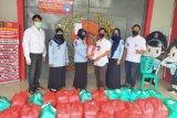 Pejuang Bravo Lima berikan 300 nasi kotak ke Lapas Perempuan Bandarlampung