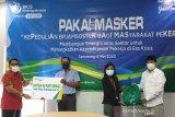 Pekerja dirumahkan dan di-PHK, BPJAMSOSTEK Semarang Majapahit bantu sembako
