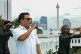 Sejumlah pejabat dan tokoh berkolaborasi nyanyikan lagu