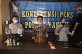 Polisi mengamankan belasan pelajar diduga akan tawuran di Bantul