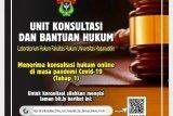 Unhas Makassar siapkan konsultasi dan bantuan hukum gratis terkait pandemi COVID-19