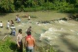Diduga terpeleset dan hanyut di sungai, Seorang IRT ditemukan tewas