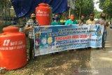 PLTU Sumsel 8 bantu fasilitas cuci tangan di empat desa cegah COVID-19