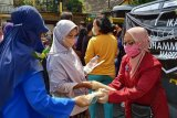 IMM Magelang memproduksi masker untuk dibagikan pada warga