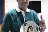 Tidak bisa mudik, karyawan HK isi waktu luang dengan menggambar wajah Didi Kempot