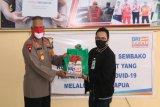 Kapolda Papua terima bantuan BRI dan BNI atasi dampak pandemi COVID-19