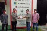 Polda Lampung serahkan masker