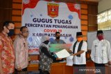 RKKL Jabodetabek salurkan APD untuk tenaga kesehatan di Agam