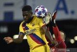 Bek Barcelona ini cedera betis