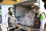 Sebanyak 60.625 paket bantuan pangan meluncur ke rumah warga Pekanbaru