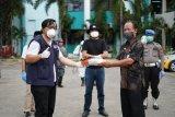 Satgas IDI-FTI UMI Makassar lakukan penyemprotan disinfektasi di rumah sakit