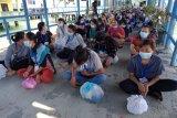 284 TKI ilegal dideportasi dari Malaysia melalui  pelabhan Tanjungpinang