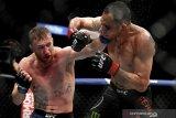 Justin Gaethje taklukkan Ferguson saat UFC diselenggarakan tanpa penonton