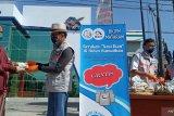BKIPM Mataram menyalurkan 2.000 paket nasi ikan