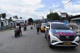 Patroli rutin Polres Nabire cegah virus corona