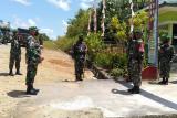 Satgas TNI di batas RI-Malaysia gelar lomba sambut HUT RI ke-75