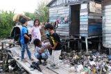 Kampung Wisata Dumai Dipenuhi Sampah Kiriman