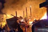 Tiga rumah di Kecamatan Tallo Makassar dilalap si 'jago merah'
