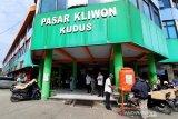 Meski 6 orang reaktif  COVID-19, Pasar Kliwon Kudus tetap buka