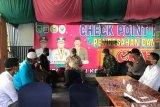 Wabup Inhil Syamsuddin Uti tinjau sejumlah Posko COVID-19 di wilayah perbatasan