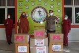 Pertamina-Bhayangkari bantu APD untuk RS Bhayangkara Makassar