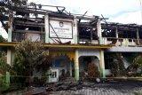 Kantor Dinas Perikanan Poso terbakar