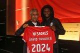 Pemain gelandang Benfica David Tavares positif terinfeksi COVID-19