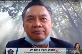 Dino Patti Djalal terkonfirmasi positif COVID