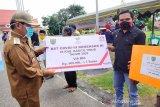Ribuan warga di Bartim terima bantuan sosial tunai dari Kemensos RI