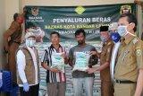 Baznas Bandarlampung salurkan 120 ton beras bantu masyarakat terdampak COVID-19