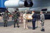 Menhan Prabowo kembali menerima bantuan alkes dari China