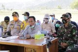 Untuk mendukung target tanam periode kedua, Bupati KSB usulkan pompa air kepada menteri pertanian
