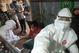 Rapid test di pasar tradisional Makassar 21 reaktif COVID-19