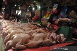Harga ayam mulai merangkak naik di pasar Palembang