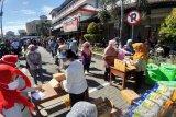 Bulog Surakarta-Pemkab Sukoharjo gelar pasar murah jelang Lebaran